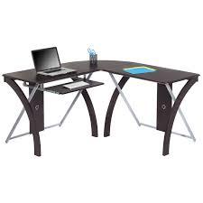 Black And White Computer Desk Office Desks And Hutches Computer Desks Organize It