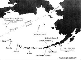 map of aleutian islands attu locate 1