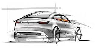 car sketch rear perspective by chris hung u2013 www lucianobove com