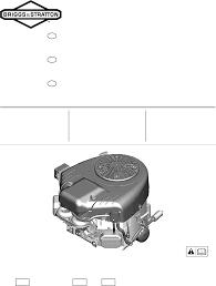 briggs u0026 stratton automobile parts 44s877 0002 g1 user guide
