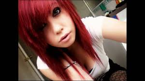 emo with blonde and black base hair is new dimension hair style
