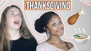 thanksgiving with black families ft my friend