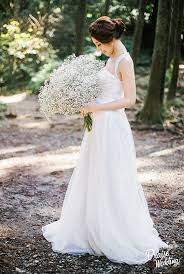 baby s breath bouquets the oversized baby s breath bouquet completed this s rustic