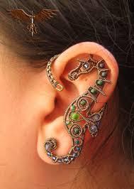 wire ear cuffs custom sea creatures ear wrap ear cuff wire wrapped house