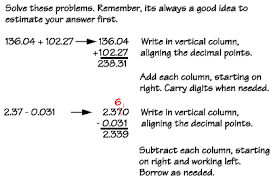 adding decimal numbers worksheet numbers adding subtracting decimals exles