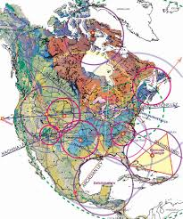 Cultural Regions Of The United States Map by Magnetic Ley Lines In America Geology Patterns North America