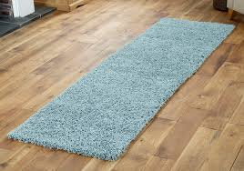 Blue Shaggy Rug Duck Egg Blue Small X Extra Large Modern Rug Thick 5cm High Pile
