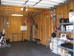 Gym Flooring For Garage by Making The Good Garage Gym Ideas Home Decor Inspirations