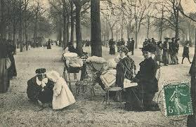 carte monde noir et blanc les petits métiers du paris 1900