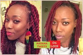 dreadlocks hairstyles youtube havana twists on locs full tutorial youtube