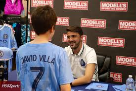 photo gallery and video nycfc captain david villa meet and greet