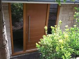spacefold timber entrance doors