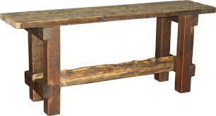 Rustic Buffet Tables by Barnwood Buffet Table Style 3 Durango Trail Rustic Furniture