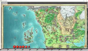 Forgotten Realms Map Fantasy Grounds The Virtual Tabletop For Pen U0026 Paper