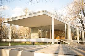 farnsworth house exterior entrance modlar com