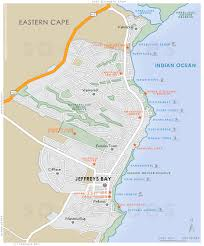 j bay south africa map jeffreys bay map