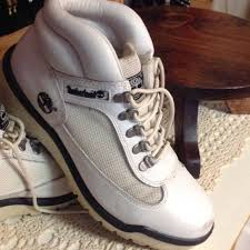 womens timberland boots size 9 88 timberland shoes white leather timberland lace up boots