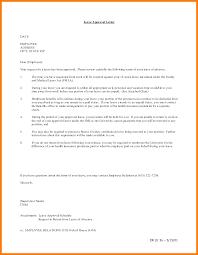 Sample Letter For Medical Leave Application 7 Letter For Vacation Leave Park Attendant
