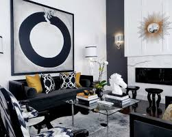 Black And Gold Room Decor Entranching Extraordinary Black White And Gold Living Room Ideas
