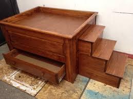 Simple Wooden Box Bed Designs Simple Design Dog Bunk Beds Modern Bunk Beds Design