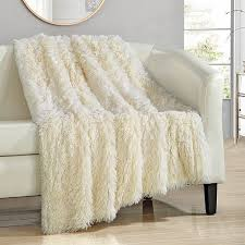 Home Design Fur by Buy Chic Home Alaska Shaggy Faux Fur Supersoft Ultra Plush Throw