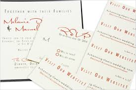 wedding registry inserts how to design print favor tags business cards