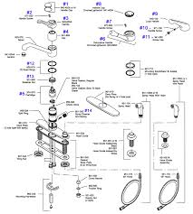 kitchen sink faucet parts diagram interior design