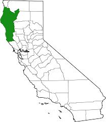 Northern California County Map Emerald Triangle Wikipedia