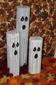 holloween decorstions using wooden spoon paint and jar best