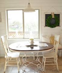 Painting Vinyl Chairs Metal Leather Cross Ivory Hardwood Chalk Paint Kitchen Table And