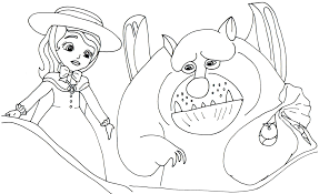 sofia the first coloring pages sofia the first coloring page with