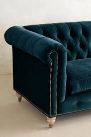 blue tufted leather couch navy sectional sofa walmart 14769