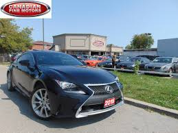 lexus rc 350 f sport used for sale used 2015 lexus rc 350 for sale toronto on