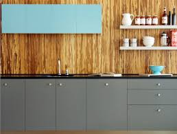 Wood Backsplash Kitchen Sustainable Resources Such As The Bamboo Used For This Backsplash