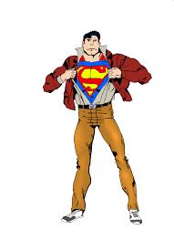 superman man steel drawing cfergodesigns deviantart