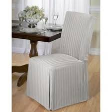 sure fit parsons chair slipcovers free shipping buy sure fit cotton duck shorty dining chair
