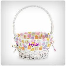 personalized wicker easter baskets 29 easter baskets for your baby s easter dodo burd