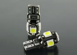 5050 x 5leds led auto lights w5w led t10 168 194 bulb for