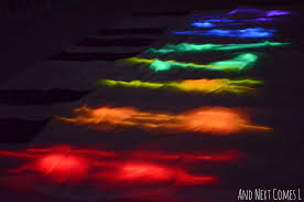 glow in the dark l homemade glowing floor piano light reflections series and next