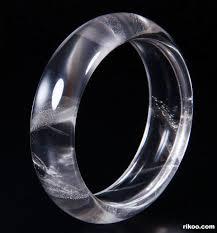 bangle bracelet with crystal images Quartz rock crystal carved crystal bangle bracelet jpg