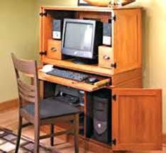 Hide Away Computer Desk Hideaway Computer Desk Hideaway Computer Desk Cabinet Natures