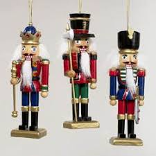 tin nutcracker soldier ornaments 2 assorted kurt s adler