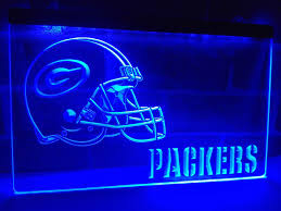 green bay packers lights ld320 green bay packers helmet nr led neon light sign home decor
