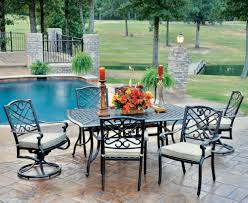 9 Pc Patio Dining Set by Harmony 9 Piece Dining Set Foremost Canada