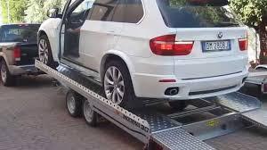 carrelli porta auto usati rimorchio trasporto auto 3000 kg con basculante e re