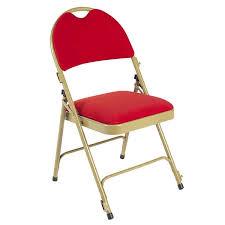 chaise dorée chaise pliante 2600 acier doré et velours classé m1 doublet