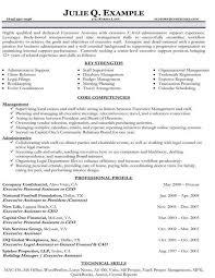 C Level Executive Assistant Resume Sample Resume Examples Career Change Career Change Resume Example