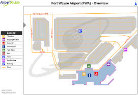 Chicago Airport Terminal Map by Fort Wayne Fort Wayne International Fwa Airport Terminal Maps