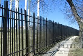 industrial grade aluminum fencing elite fence products inc