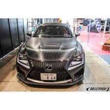 lexus rcf turbo kit varis magnum opus front spoiler